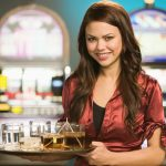 tip a casino waitress